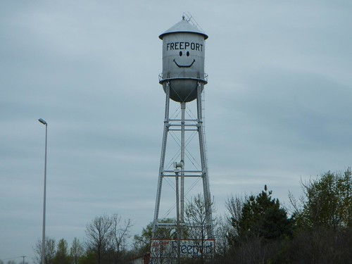 Freeport, MN watertower