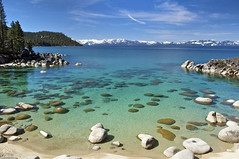 Secret Harbor Cove, East Shore, Lake Tahoe, NV. photo by SteveD.