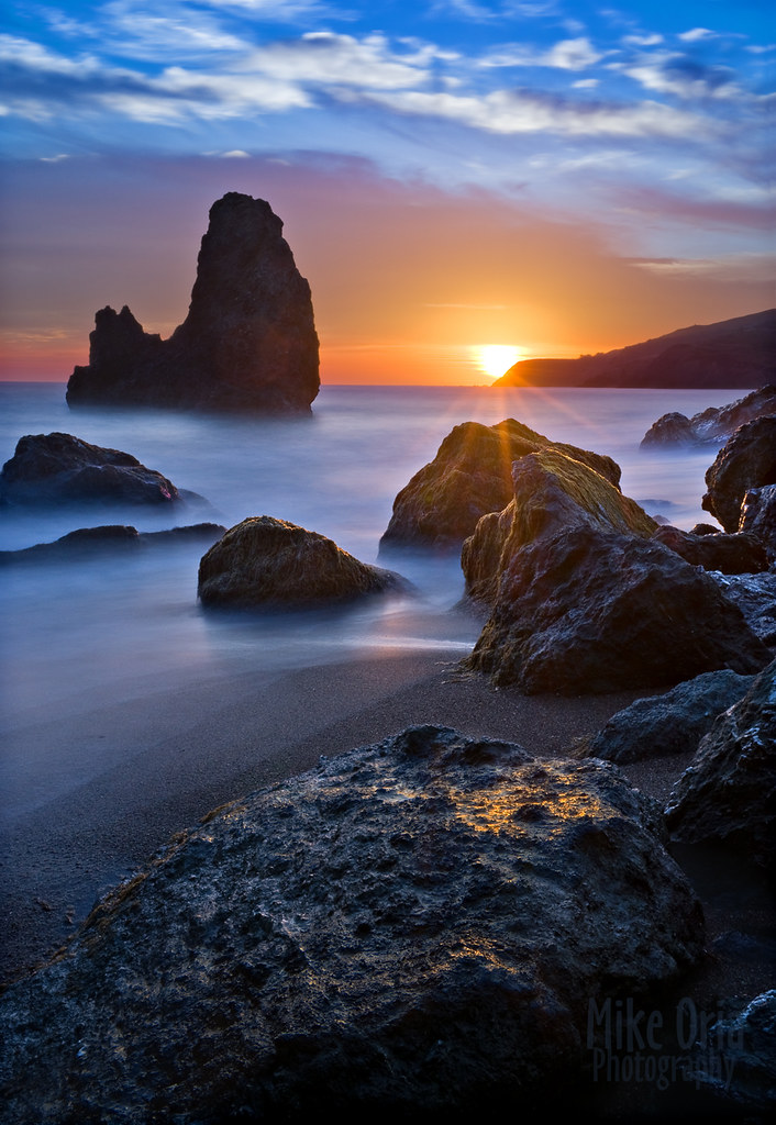 Rodeo Beach Sunset (explore #25) photo by mikeSF_