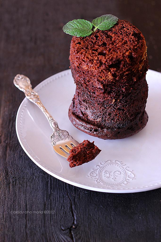 Chocolate mug cake 2