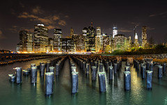 New York City Skyline from across the East River photo by Gene Krasko Photography