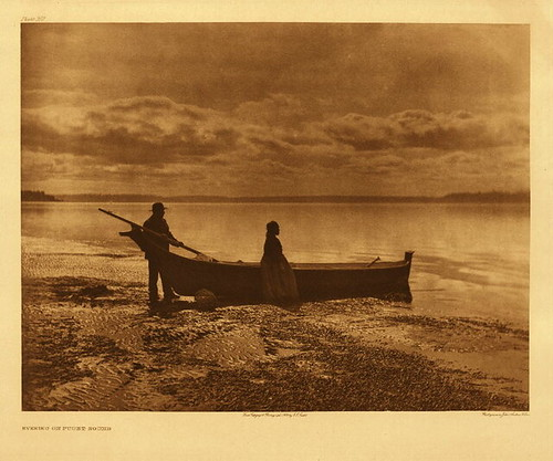 Evening on Puget Sound 1913