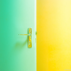 Open the door photo by Pensa-Art