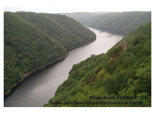 Vallée de la Dordogne entre Corrèze et Cantal
