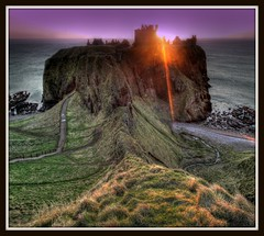 Dunnottar Castle - Sunrise, Stonehaven, Aberdeenshire, Scotland. photo by PeskyMesky