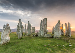 More Callanish Stones photo by Christopher Combe Photography