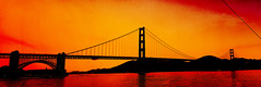 Golden Gate Sunset photo by RaulHudson1986