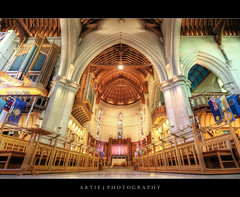 ChristChurch Cathedral, South Island, New Zealand :: HDR photo by :: Artie | Photography ::