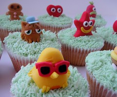 Moshi Monsters cupcakes photo by small town girl bakery