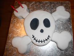 Baxta's birthday cake photo by sewing daydreams