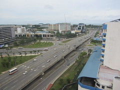 Bird's Eye View Of Karamunsing Flyover photo by thienzieyung