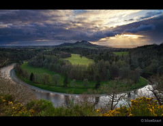 Scotts View - Colour photo by blue fin art- 1.4 Million Views. Thank You!