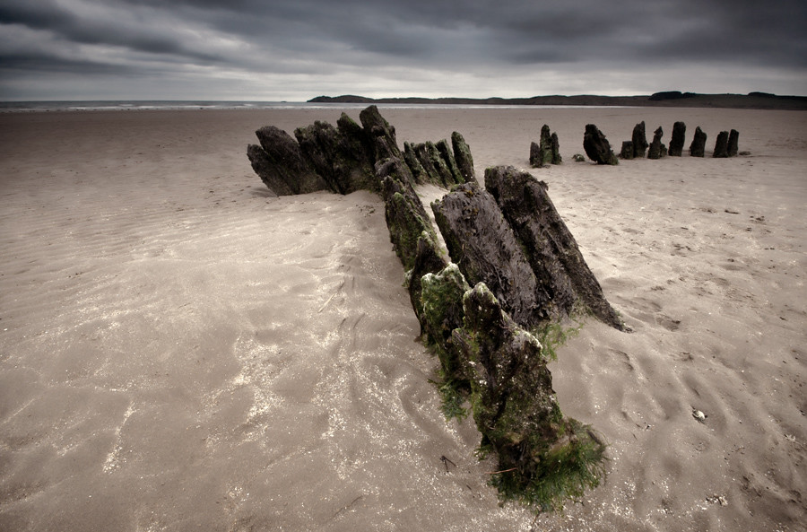 'Wrecked' - Newborough Beach, Anglesey photo by Kristofer Williams