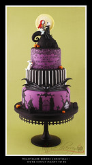 Nightmare Before Christmas - Simply Meant to Be photo by Little Cherry Cake Company