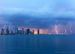 Electrical Storm, Chicago [iPhone 4] photo by josefrancisco.salgado