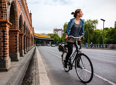 Girl Riding a Bike photo by danielfoster437