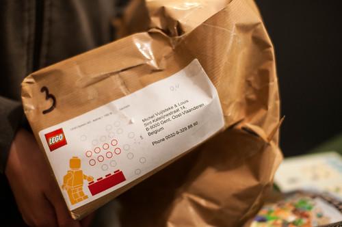 Kijk nu, een pakje uit Denemarken