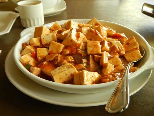 3G Vegetarian - Chili Tofu with Sesame Sauce