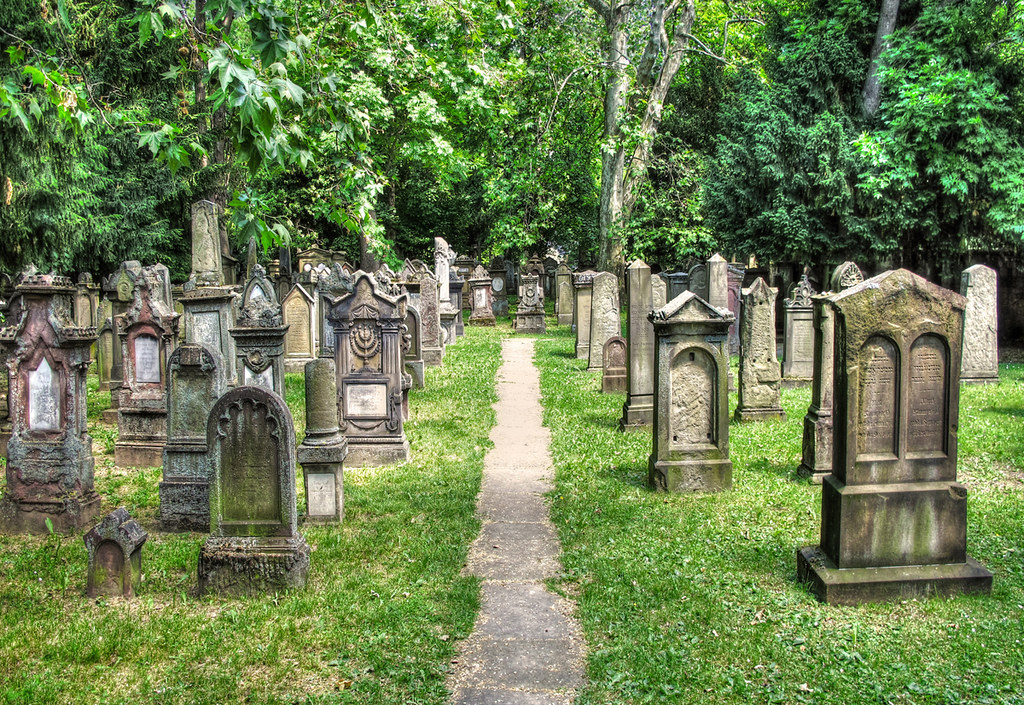Jewish Cemetery Stuttgart photo by Habub3