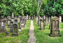 Jewish Cemetery Stuttgart photo by Habub3