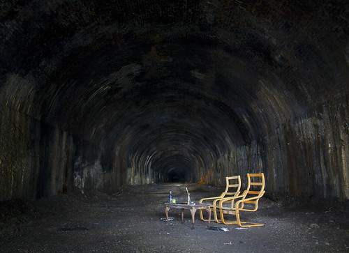 Kelvingrove Tunnel Chairs photo by Bora Horza