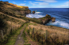 Tunnel Beach photo by Pommedan (DG Images)