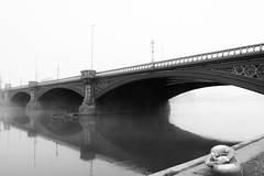 Trent Bridge in the Mist photo by ChrisDale