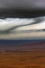Desert weather, near Page, Arizona photo by Robyn Hooz