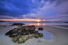 Hopeman Beach Sunset - Scottish Highlands (Explored) photo by Michael Carver Photography