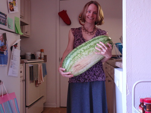 That is One Big Watermelon
