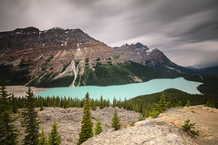 Peyto Lake, Banff National Park, Canada. photo by Owen O'Grady