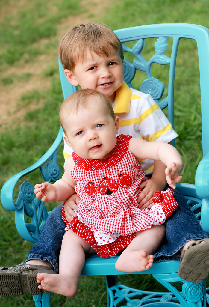 Sweet Baby Julianne & her big brother Chase