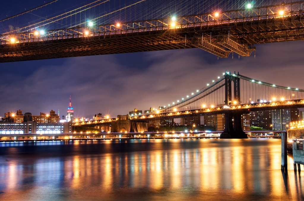 Bridges to the Empire State photo by DPGold Photos