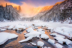 """Dream of Fire""  Rocky Mountain National Park Colorado photo by Dan Ballard Photography"