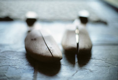 my father's shoe trees | Nikon FE + Nikkor 50mm 1.2 AiS + Fuji 400H 35mm film photo by *AndrewYoungPhoto* (writing_with_glass) back soon