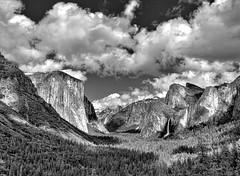 Yosemite Valley B&W photo by Dave Toussaint (www.photographersnature.com)