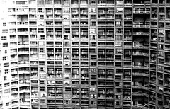 Hyde Park Flats,Sheffield,1980 photo by brightondj - getting the most from a cheap compact
