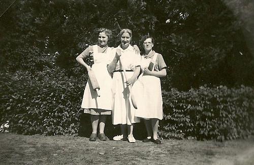 Lillian, frk. Pedersen & Karen