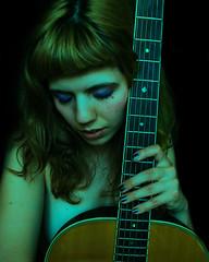 Greenish selfie photo by vallayka