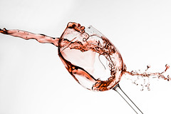 Wine glass splash #1 photo by jeremypix