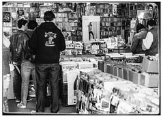 Standing In Line on Record Store Day 2014 (Explored) photo by swanksalot