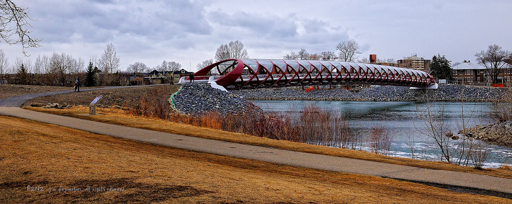 Peace Bridge Pano