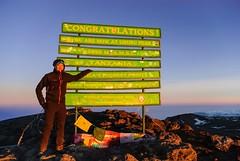 Me vs Kilimanjaro - Summit Day photo by GlobeTrotter 2000
