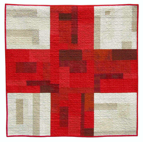 9Patch Quilt in Red and White photo by BooDilly's