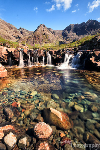 The Fairy Pools photo by Dave Brightwell