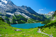 Oeschinensee Mountain Lake photo by Werner_B