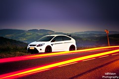 White Ford Focus RS Stage 1 photo by WillVision Photography