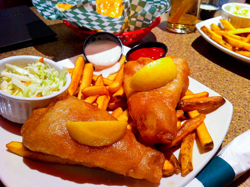 Fish n' Chips - Upper Deck Public House