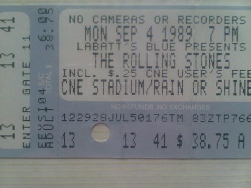 Rolling Stones 1989