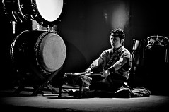 The silent beat / Taiko 太鼓 / Japanese drums photo by 小川 Ogawasan